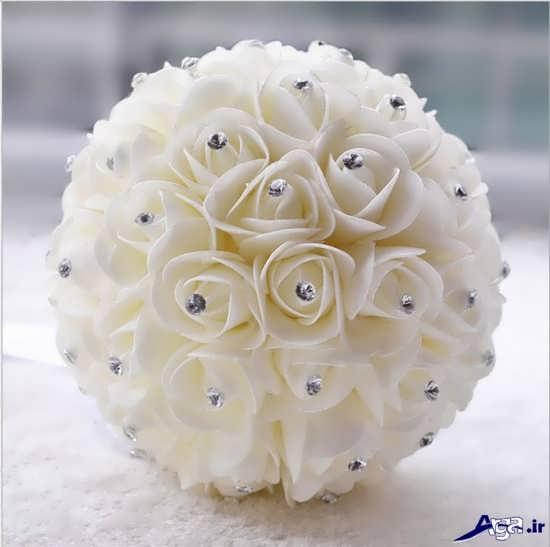 مدل جدید و شیک دسته گل عروس 2017