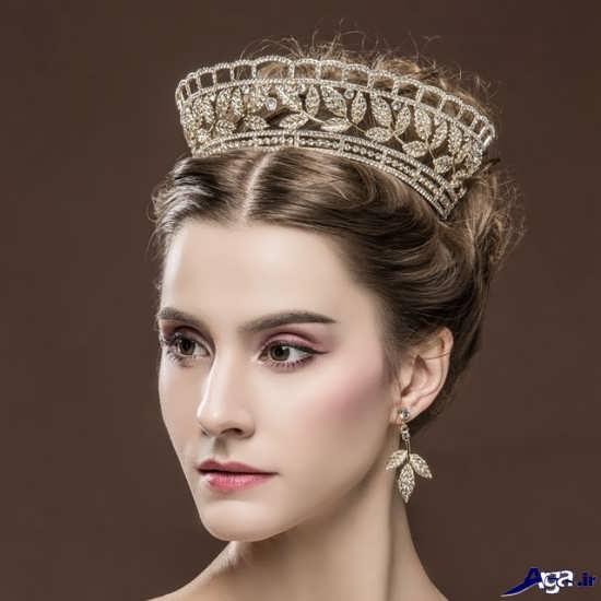 مدل تاج عروس سلطنتی