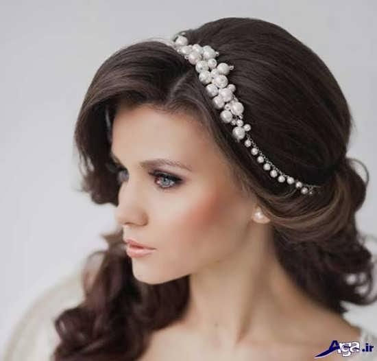 مدل تاج عروس شیک و زیبا