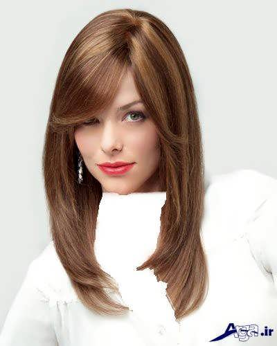 رنگ مو زیبا و متفاوت کاپوچینو