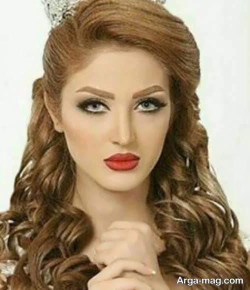 مدل منحصر به فرد آرایش مو برای صورت کشیده