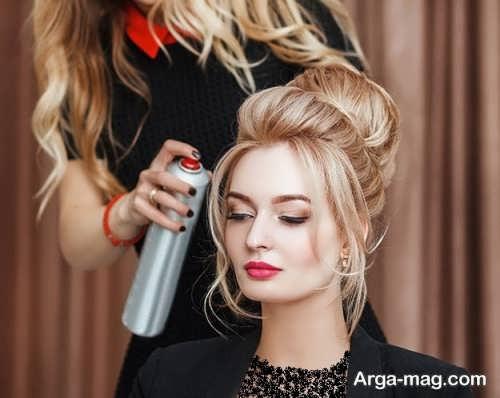 آرایش جلو مو برای افراد با صورت کشیده