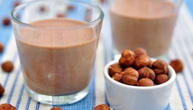 طرز تهیه دسر ایتالیایی پودینگ شکلات فندقی
