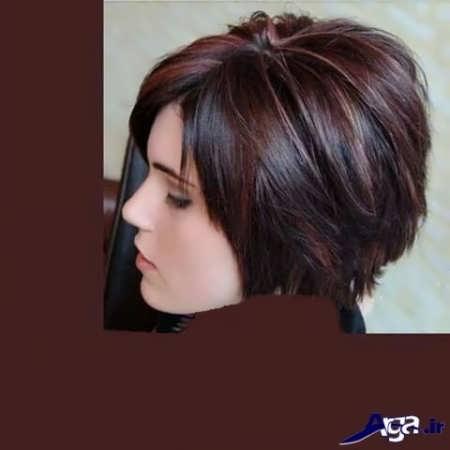 رنگ موی دارچینی کاکائویی