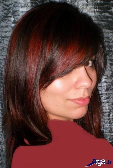 رنگ موی قرمز کاکائویی