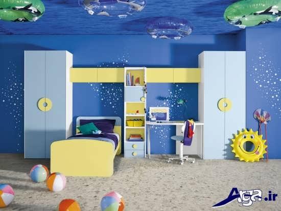 انتخاب رنگ مناسب برای اتاق کودک دختر و پسر