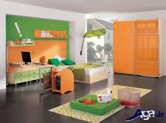 بررسی تاثیر روانشناسی رنگ اتاق کودک