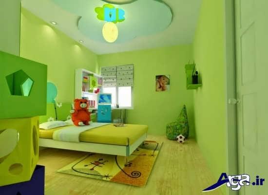 انواع رنگ های گرم و سرد برای اتاق کودک