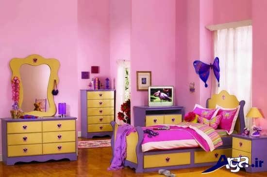 انواع رنگ های مناسب اتاق کودکان