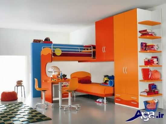 انواع رنگ های سرد و گرم برای اتاق کودک
