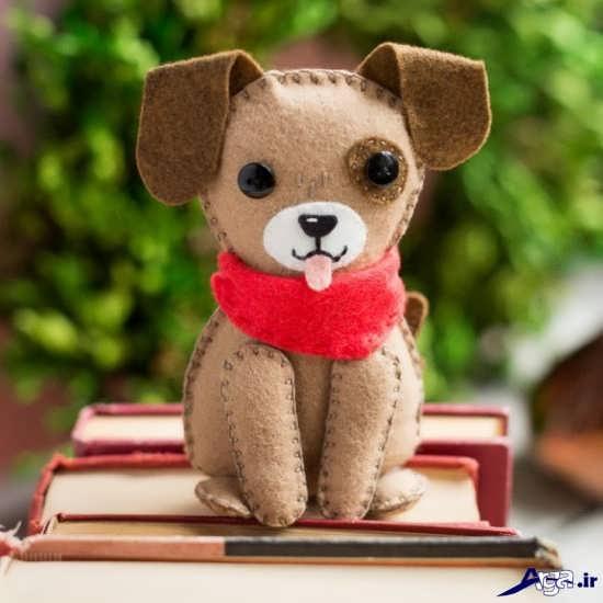عروسک نمدی سگ