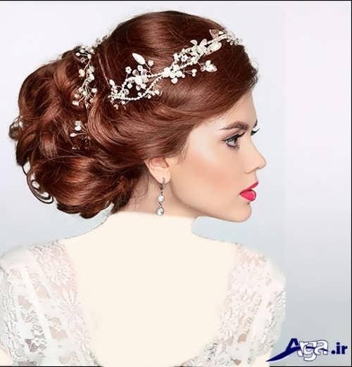 مدل موی فر بسته عروس