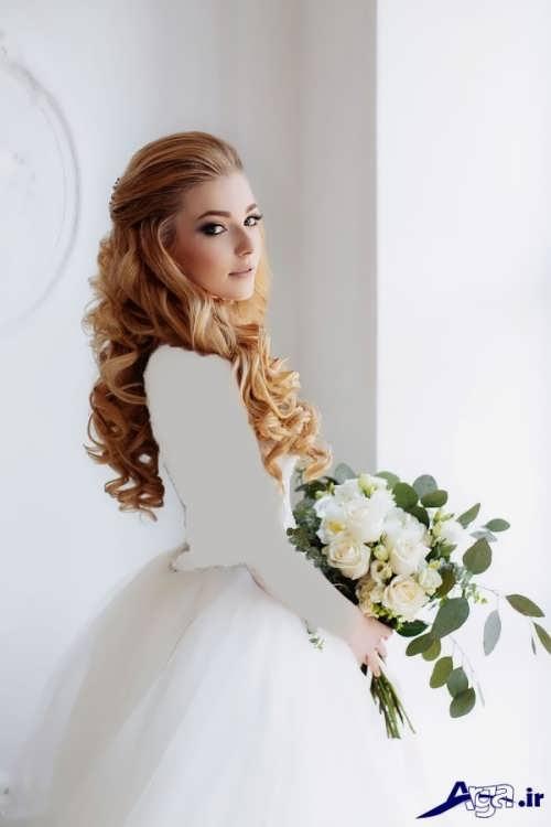 مدل موی فر عروس جدید و زیبا