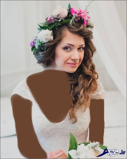 جدیدترین مدل موهای فر عروس