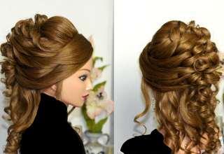 مدل موی فر عروس با انواع شینیون های باز و بسته
