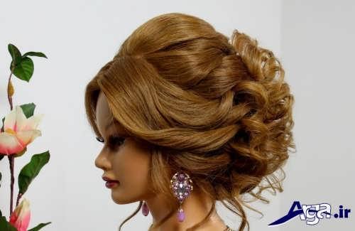 انواع مدل موهای عروس