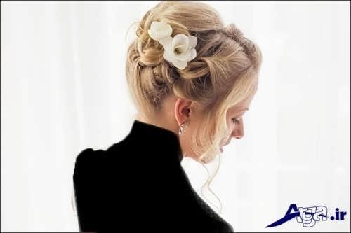 مدل موی زیبا و جذاب عروس