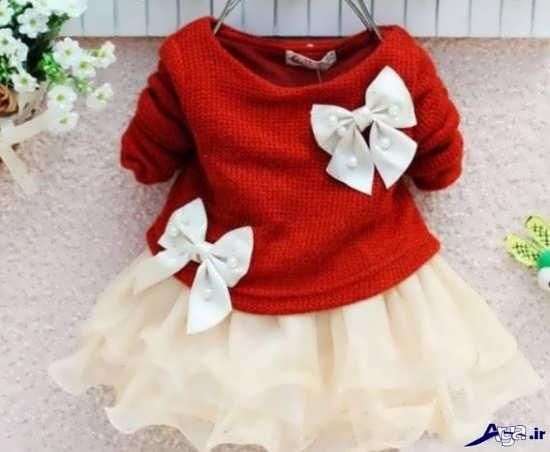 تزیین زیبای لباس کودک