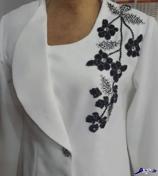 مدل تزیینات لباس مجلسی