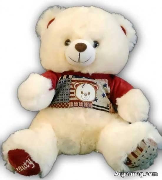 ساخت عروسک خرس با پولیش