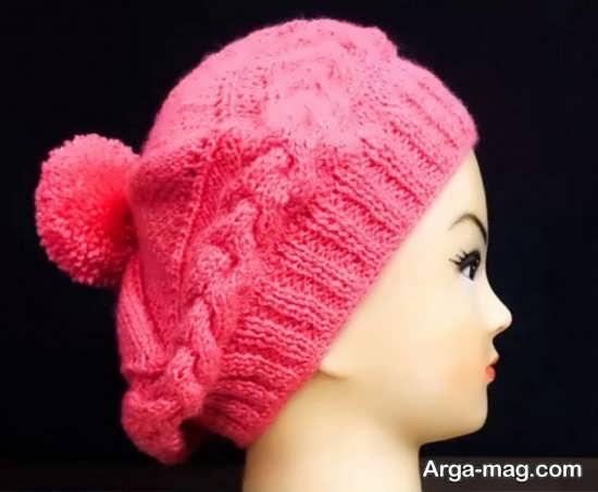 نحوه بافت کلاه دخترانه