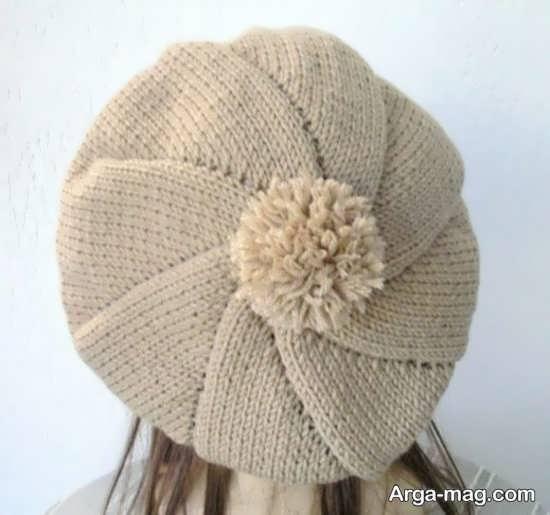 بافت کلاه فرانسوی دخترانه