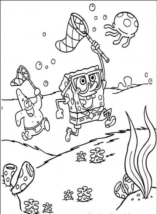 نقاشی باب اسفنجی فانتزی
