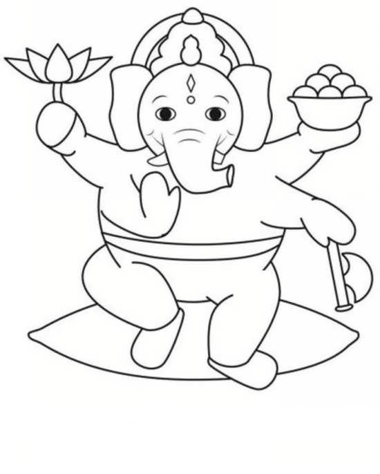 نقاشی فیل فانتزی