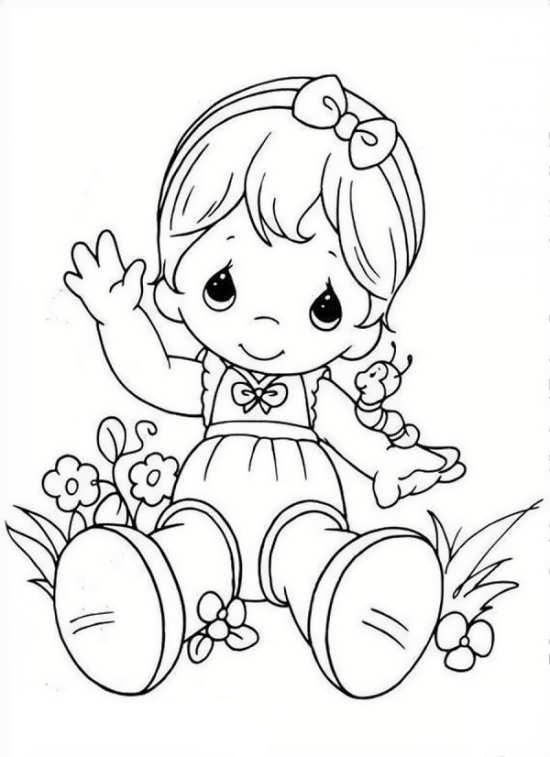 نقاشی کودکانه فانتزی با طرح های زیبا