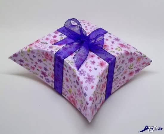 کادو ساعت ساخت جعبه کادو زیبا و ساده در منزل به همراه الگو
