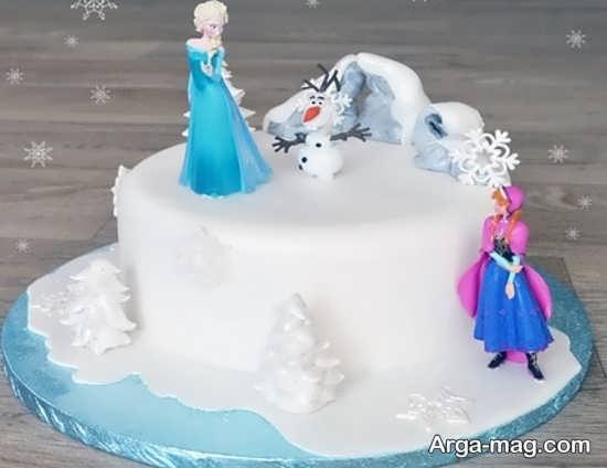 کیک تولد دخترانه جذاب