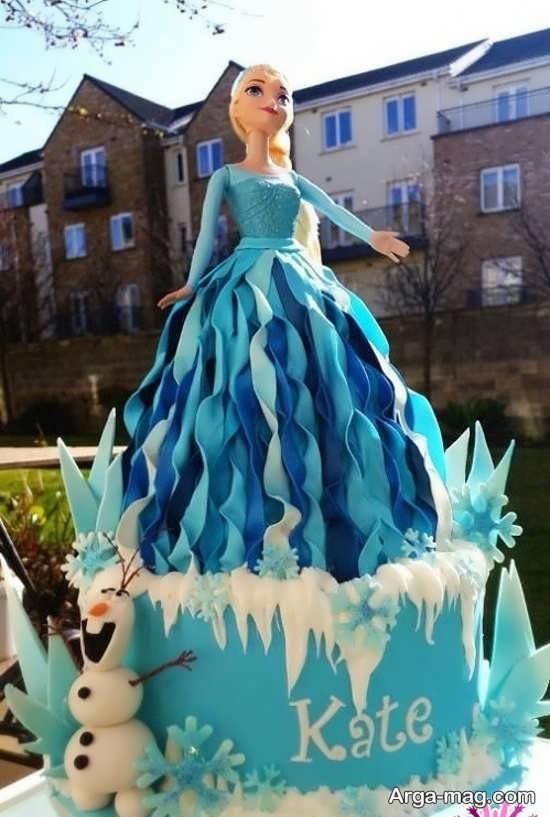 انواع کیک تولد دخترانه با تم زیبا