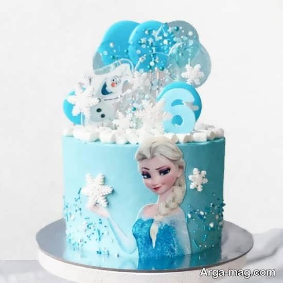 کیک تولد دخترانه جدید