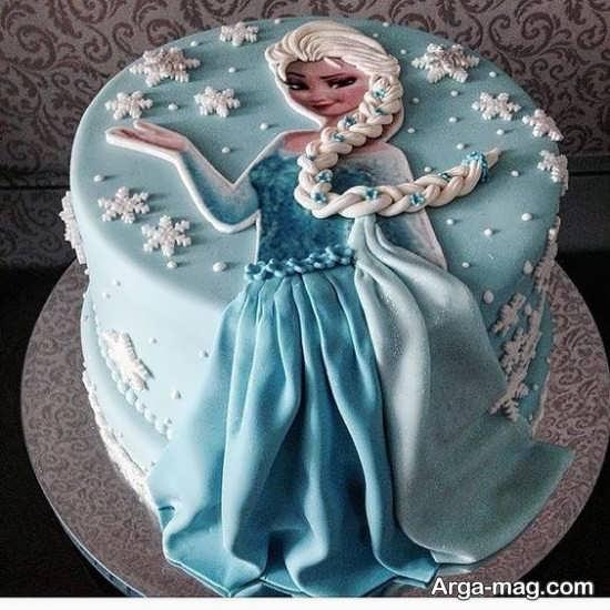 کیک تولد دخترانه شیک