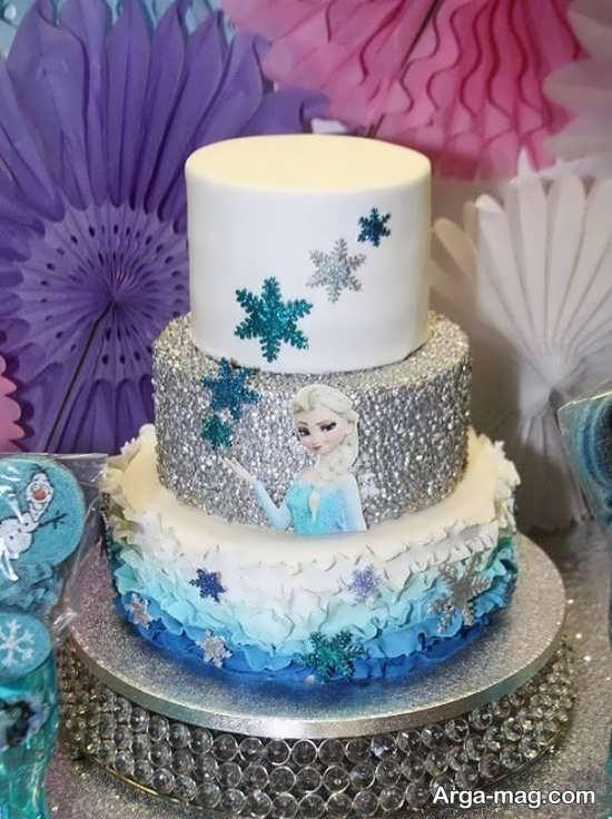مدل کیک تولد دخترانه شیک
