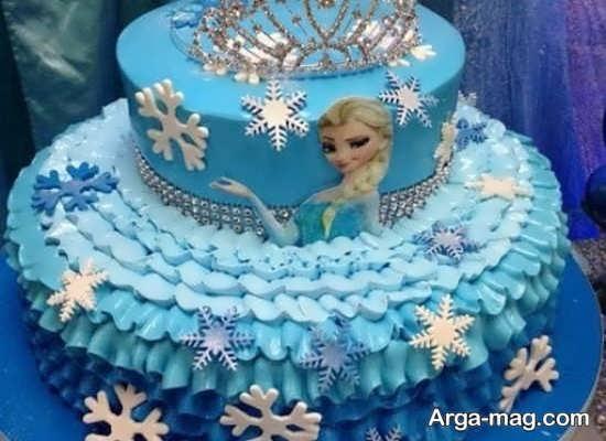 مدل کیک تولد دخترانه لاکچری