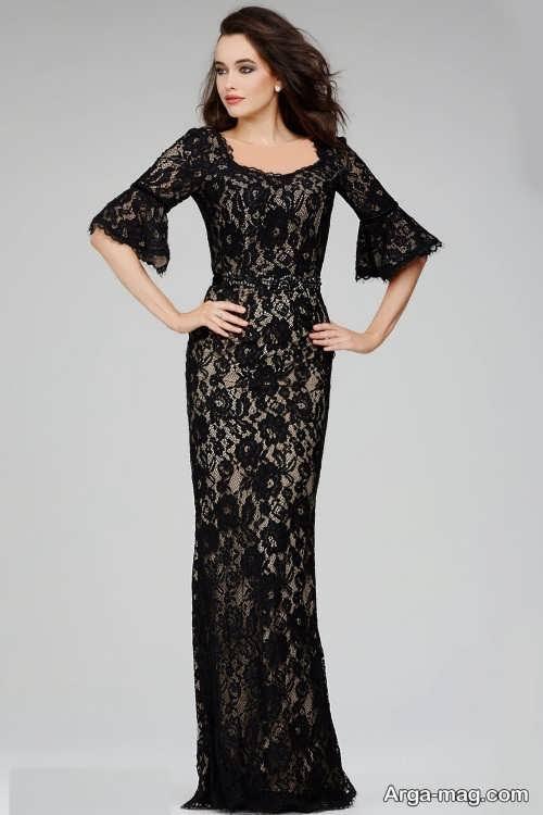 جدیدترین مدل لباس شب گیپور