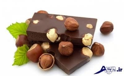 شکلات فندقی