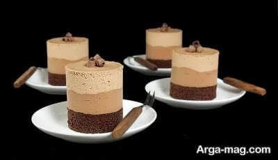 روش تهیه موس قهوه و شکلات