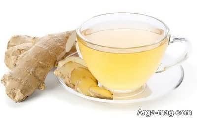 آموزش تهیه چای زنجبیلی با زردچوبه