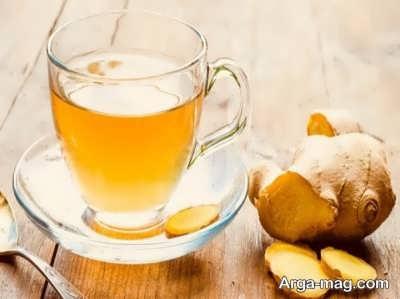 احتیاط در مورد مصرف چای زنجبیلی