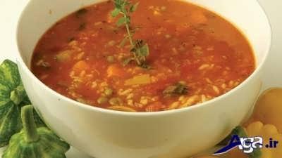 طرز تهیه سوپ ایتالیایی خوشمزه
