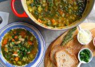 طرز تهیه سوپ ایتالیایی در منزل