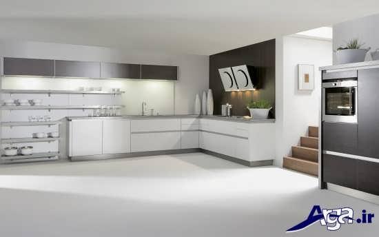 طراحی آشپزخانه های بزرگ و کوچک
