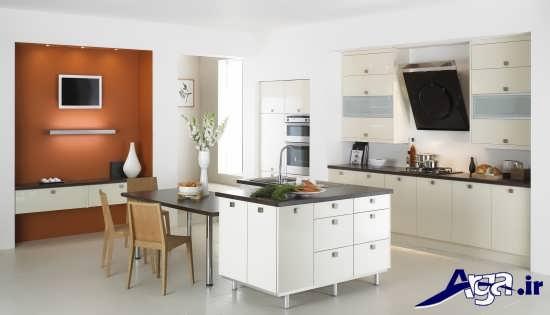 طراحی داخلی آشپزخانه با روش های مدرن