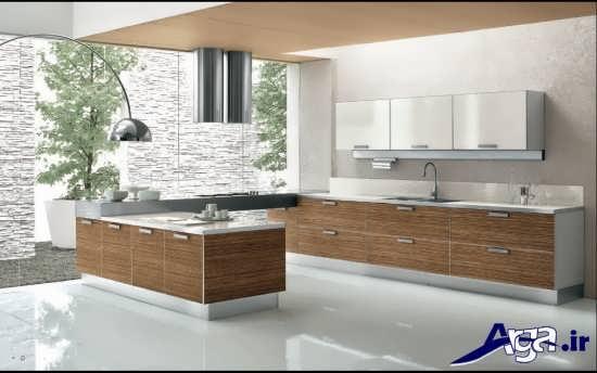 طراحی داخلی شیک و کاربردی برای آشپزخانه