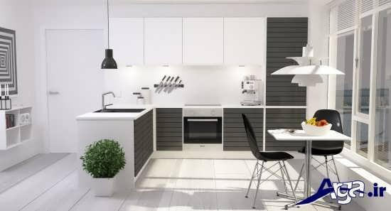 طراحی داخلی آشپزخانه مدرن و متفاوت