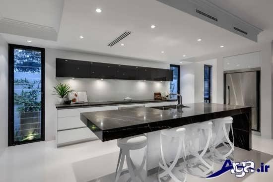طراحی داخلی شیک و بی نظیر آشپزخانه
