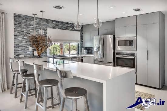 طراحی داخلی آشپزخانه مدرن با انواع آشپزخانه های کوچک و بزرگ