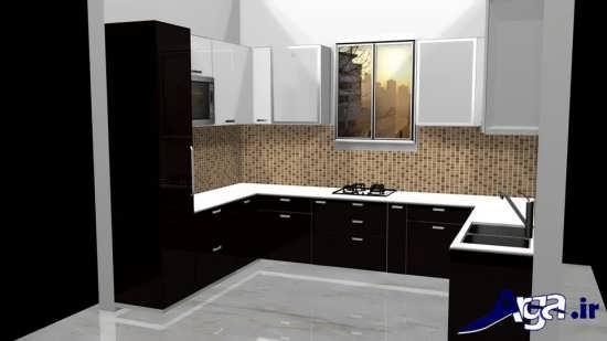 طراحی آشپزخانه با کمک روش های خلاقانه و مدرن